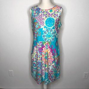 Jude Connally Mary Pat Dress L